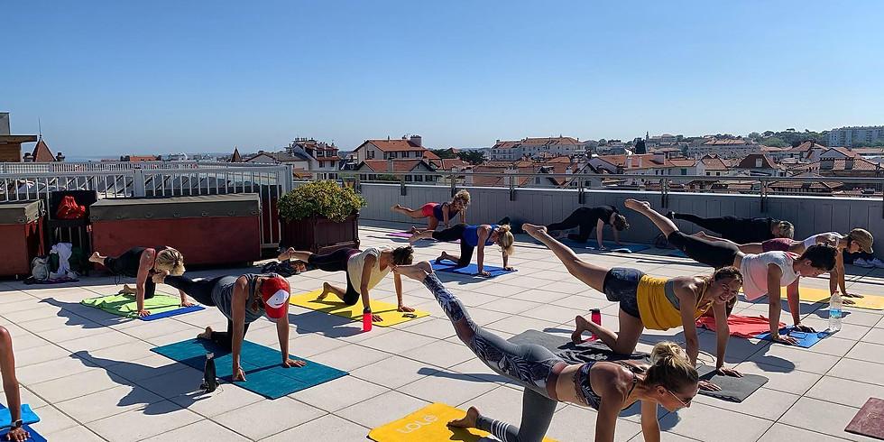 Pilates Flow samedi 03/07 10h00 terrasse Radisson