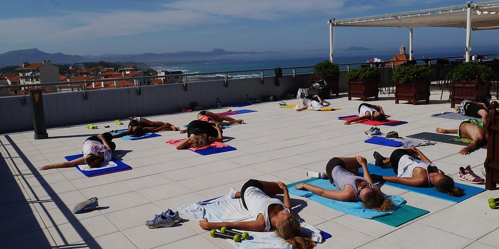 Pilates Flow 18/07 Terrasse du Radisson à Biarritz