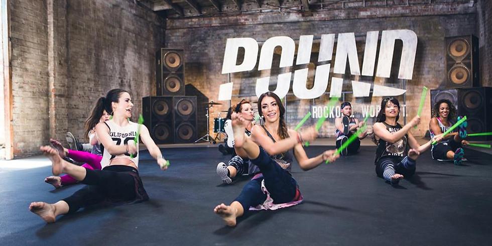 Pound Fit lundi 04/10 20h00