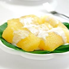 Tapioca with Coconut Milk