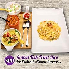 M10 - Salted Fish Fried Rice + Tom Kha Gai Soup Set Meal