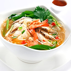 Suki Noodles with Seafood