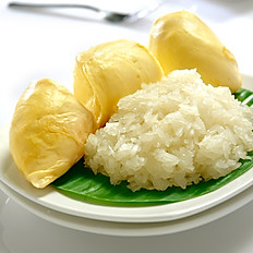 Durian with Sticky Rice