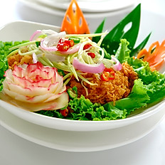 Crispy Catfish with Mango Salad