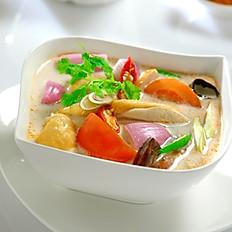 Coconut Milk Chicken Soup