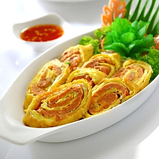 [55] Olden Style Fish Cake Roll (8 Pieces)