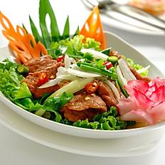 Sliced Beef Salad