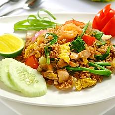 Thai Style Fried Rice (Seafood/Chicken/Pork/Beef)