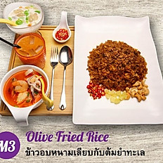 M3 - Olive Fried Rice + Tom Yum Seafood Soup Set Meal