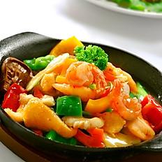 Hotplate Seafood Beancurd
