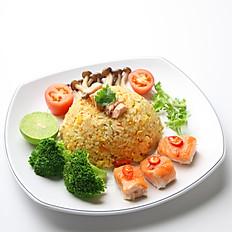 [108] Salmon Fried Rice