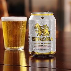 Singha Canned Beer