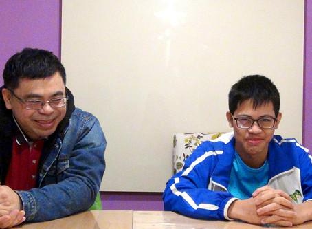 William C. / 青少年一對一英文 / 有效的英文溝通能力,是在ebs最大的進步!