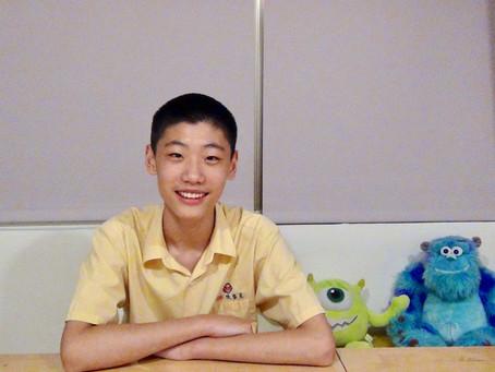 Brian C. / 國中一年級 / 青少年一對一 / 我將來要當語言學家!