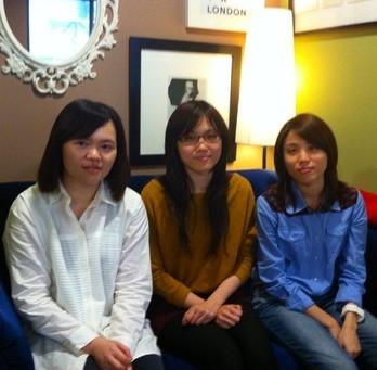 Stella, Phoebe, Patty@Samsung /  職場英文怎麼學? EBS讓我們使用英語時能立即表達. 不再掉入中翻英的陷阱