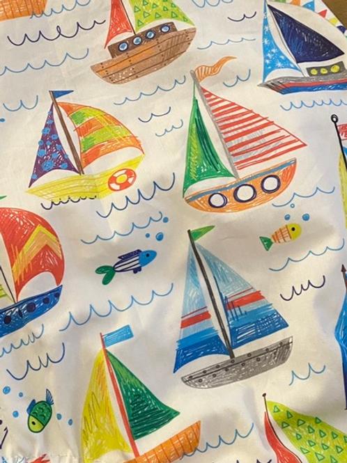 Ranita Santi barcos de vela coloreados