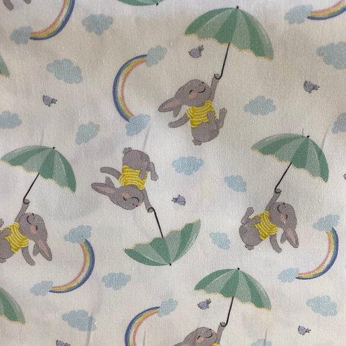 Ranita Diego Conejos con paraguas