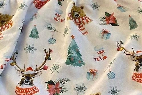 Ranita Santi decoración navideña