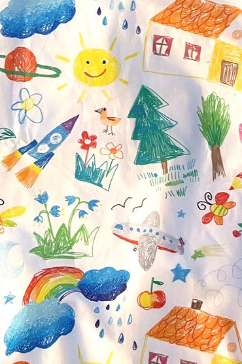 Ranita Santi dibujos coloreados