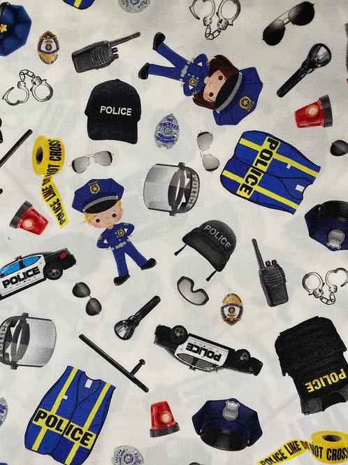 Ranita Diego policía