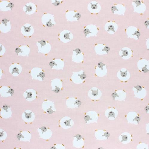 Ranita diego ovejas rosas