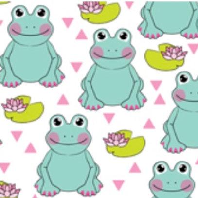Ranita Diego ranas y lotos
