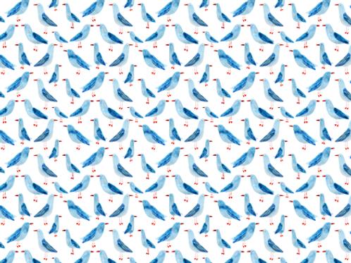 Ranita Santi gaviotas azules