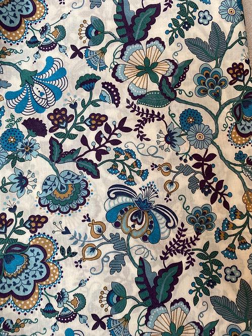 Ranita Ana Liberty flores azules grandes