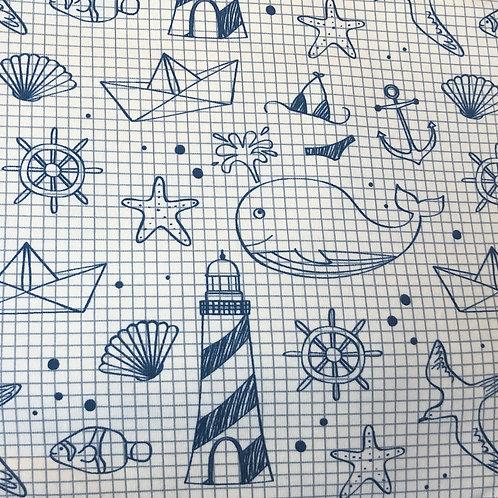 Ranita Diego cuaderno marinero