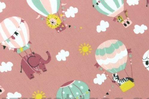 Ranita Santi Animales en globo rosa