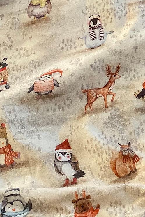 Animales con bufanda
