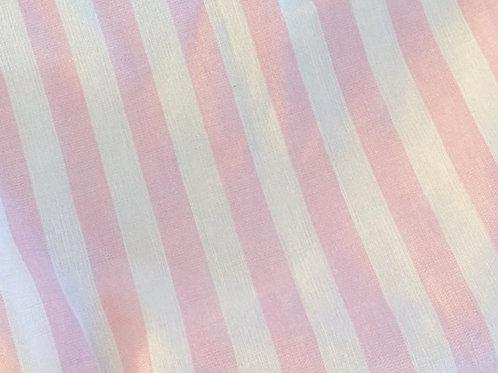 Ranita Diego Lino rayas rosa y blanco