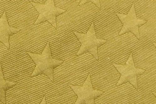 Ranita Santi sudadera mostaza estrellas
