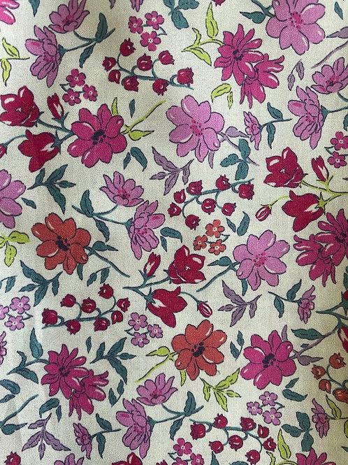 Ranita Santi flores rosa fuerte
