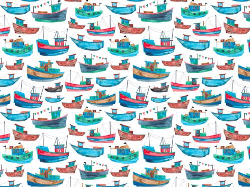 Ranita Santi barcos pesqueros