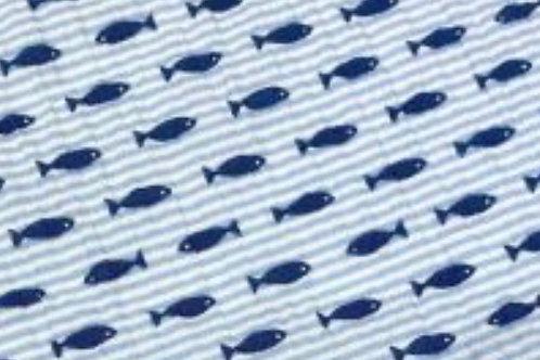 Ranita Diego rayas y peces azules