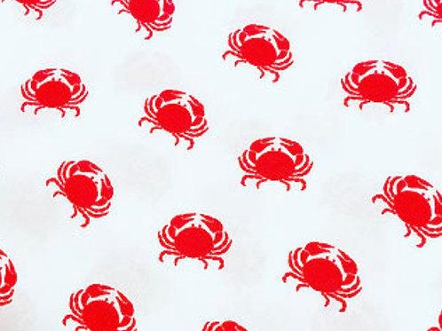 Ranita Ana cangrejos rojos