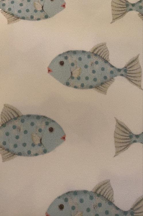 Ranita Ana peces azules