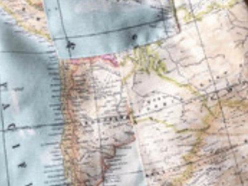 Ranita Santi mapa normal