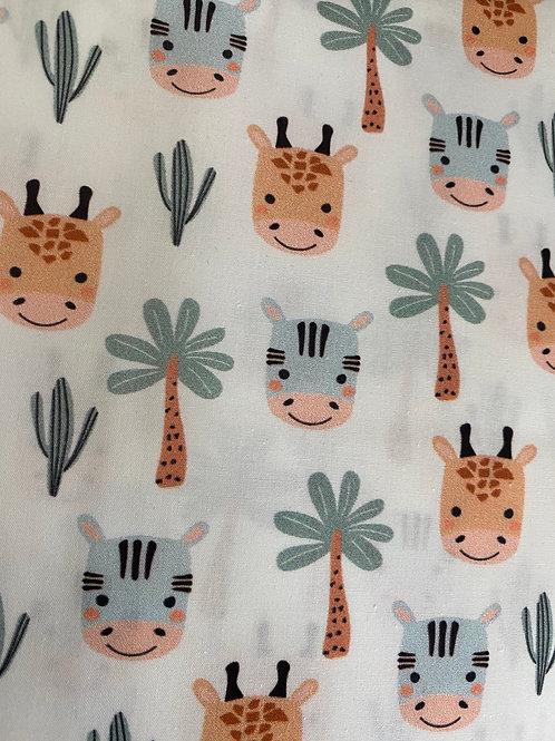 Ranita Diego palmeras cebras y jirafas
