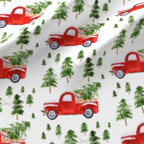 Coches y árboles de navidad