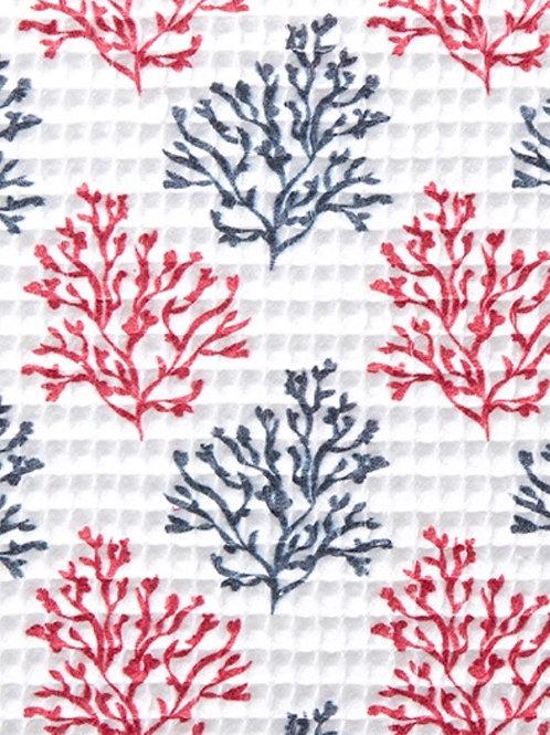 Ranita Diego corales azul marino y rojo