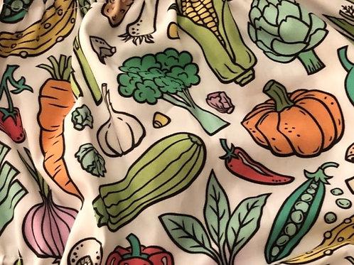 Ranita Diego verduras