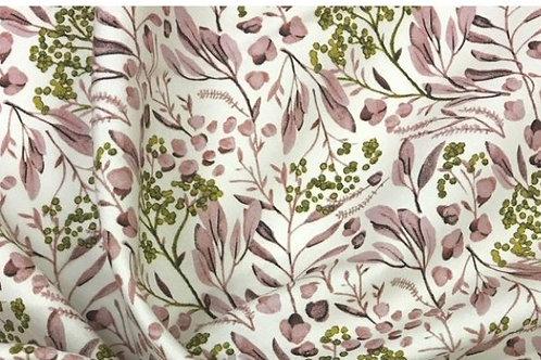 Flores rosa palo y mostaza