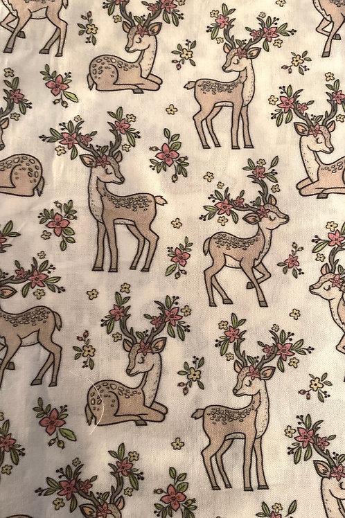 Ranita Santi ciervos y flores