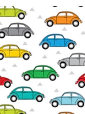 Ranita Santi coches de perfil