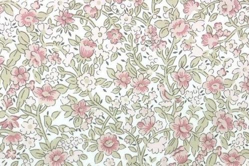 Florecitas rosa y verde