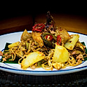 Gebakken Indiase Noedels met Kip / Fried Indian Noodles with Chicken / 印度面
