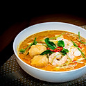 Maleisische Kokos Curry Noedelsoep (Maleisische curry mie) / Malaysian Coconut Curry Noodle soup / 馬來咖哩面