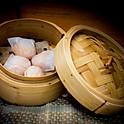 Gestoomde garnalenpasteitjes 蝦餃 (4 stuks)
